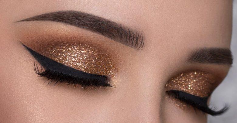 gold eyelash