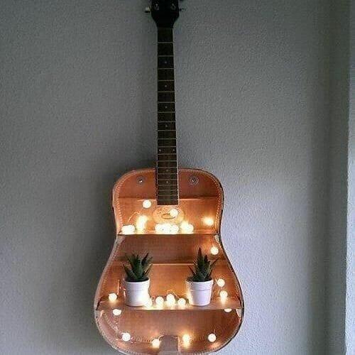repurposed guitars