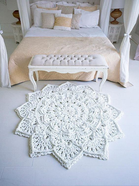 DIY crochet rugs