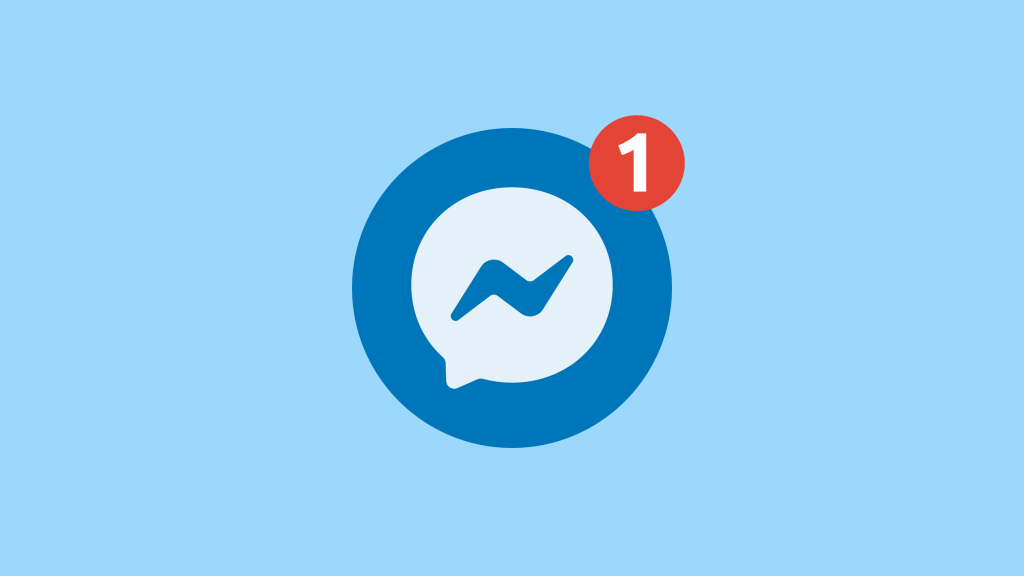 you have a new message in messenger