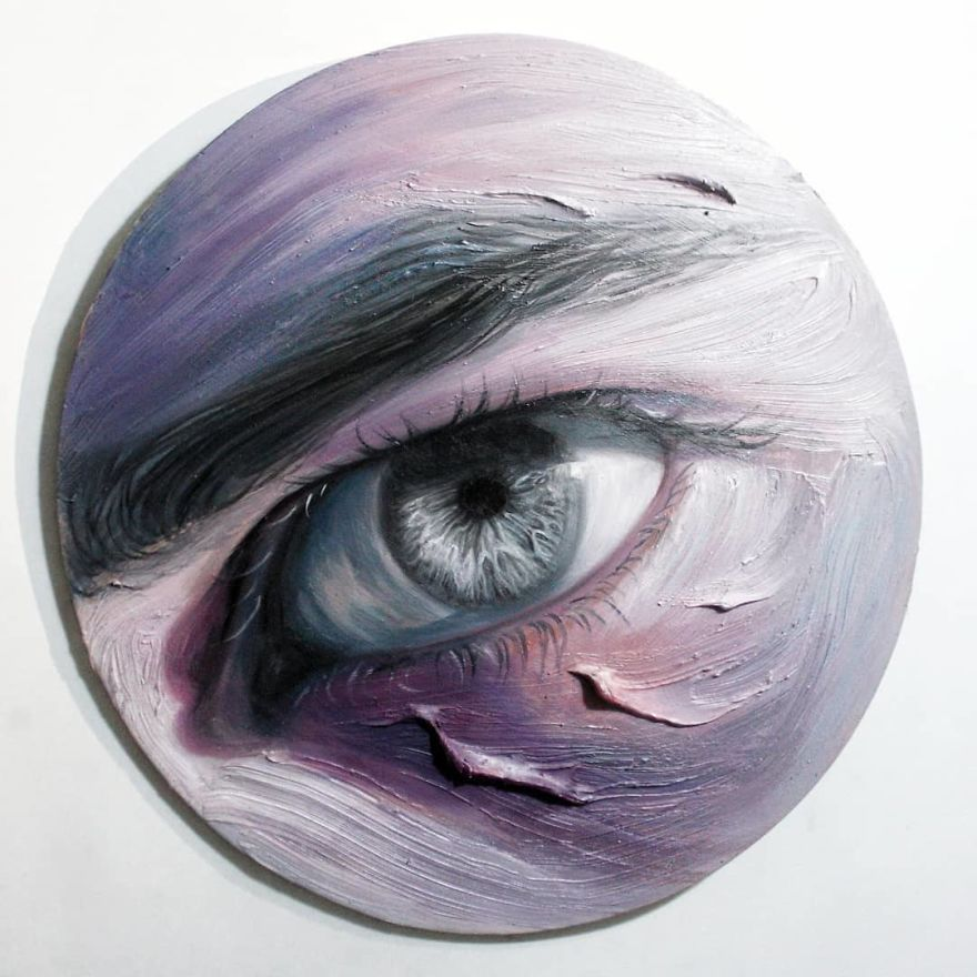 paintings of eyes